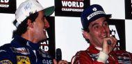 Alain Prost y Ayrton Senna en Adelaida en 1993 - SoyMotor.com