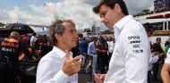 Alain Prost (izq.) y Toto Wolff (der.) – SoyMotor.com