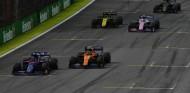 Duelo en pista en el GP de Brasil - SoyMotor.com