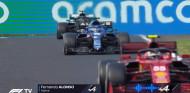 Las radios durante el duelo entre Alonso y Hamilton en Hungría - SoyMotor.com