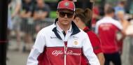 Kimi Räikkönen en el GP de Bélgica F1 2019 - SoyMotor.com