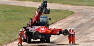 Kimi Räikkönen abandona en el GP de España - SoyMotor