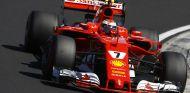 Räikkönen, durante el GP de Hungría - SoyMotor.com