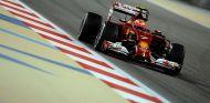 Kimi Räikkönen y su Ferrari en Baréin - LaF1