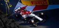 Kimi Räikkönen en el GP de Azerbaiyán F1 2019 - SoyMotor