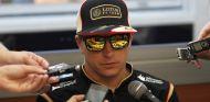 Kimi Räikkönen atiende a la prensa en Spa - LaF1
