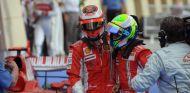 Räikkönen y Massa en el GP de Baréin de 2008 - SoyMotor