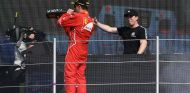 Kimi Räikkönen en el podio del GP de México F1 2017 - SoyMotor.com