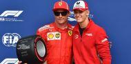 Kimi Räikkönen y Mick Schumacher en Monza - SoyMotor.com