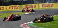Verstappen, Räikkönen y Vettel en el GP de Japón 2018 - SoyMotor.com