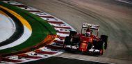 Kimi Raikkonen en el GP de Singapur 2015 - LaF1