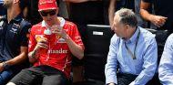 Kimi Räikkönen y Jean Todt en Montreal - SoyMotor.com