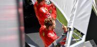 Kimi Räikkönen y Sebastian Vettel en Silverstone - SoyMotor.com