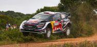 Sébastien Ogier en el Shakedown del Rally de Italia 2018 - SoyMotor.com