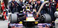 Mark Webber antes de comenzar la carrera de Brasil - LaF1