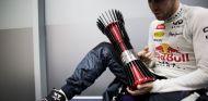 Sebastian Vettel tras su victoria en la India - LaF1