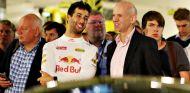 Daniel Ricciardo y Adrian Newey - LaF1