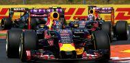 Daniil Kvyat y Daniel Ricciardo en Hungría - LaF1