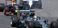 Lewis Hamilton y Sebastian Vettel en el Gran Premio de Canadá - LaF1