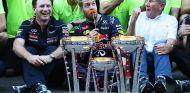 Vettel festeja la victoria, para éxtasis de Marko - LaF1