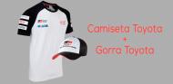 REGALAMOS en la tienda la gorra y camiseta de Toyota en el WEC - SoyMotor.com