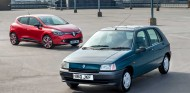 Así ha cambiado el Renault Clio con el paso de los años - SoyMotor.com