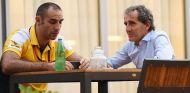 Cyril Abiteboul y Alain Prost - LaF1