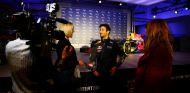 Daniel Ricciardo durante la presentación de ayer en Londres - LaF1