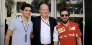"""El Rey Juan Carlos: """"Alonso me ha dicho que va a McLaren"""""""
