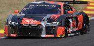 24 Horas de Spa: El Audi de Riberas pierde la Pole Position y acarrea 3 minutos de sanción