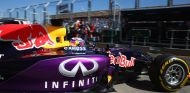 Daniel Ricciardo saliendo del box de Red Bull en Australia - LaF1.es