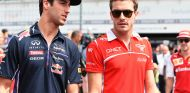Daniel Ricciardo y Jules Bianchi en Hockenheim - SoyMotor.com