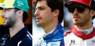 Ricciardo, Sainz y Giovinazzi, las alternativas a Vettel de Ferrari - SoyMotor.com