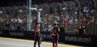 Ricciardo y Verstappen tras la clasificación en Singapur - SoyMotor.com