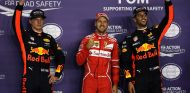 Ricciardo, Vettel y Verstappen en Singapur - SoyMotor.com