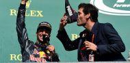 Daniel Ricciardo y Mark Webber en Spa-Francorchamps - SoyMotor.com