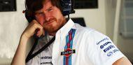 Rob Smedley en el muro de Williams - LaF1.es