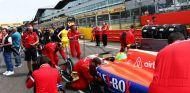 Roberto Merhi en la parrilla de Silverstone - LaF1
