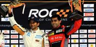 Narain Karthikeyan y Karun Chandhok en el ROC 2012 - LAF1