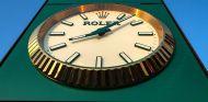Reloj Rolex que marca el inicio de las sesiones de Grandes Premios - SoyMotor.com
