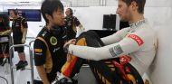 Grosjean asegura contar con suficiente experiencia para liderar Lotus - LaF1