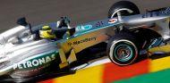 Nico Rosberg al volante del W04
