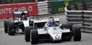 Keke y Nico Rosberg con sus coches ganadores - SoyMotor.com
