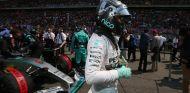 Nico Rosberg en la parrilla del GP de China - LaF1