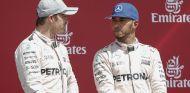 Nico Rosberg junto a Lewis Hamilton - LaF1