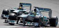 Nico Rosberg y Lewis Hamilton en Nürburgring - LaF1