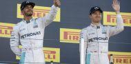 Rosberg y Hamilton en el podio de Rusia - SoyMotor