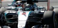 Nico Rosberg y Lewis Hamilton en Montmeló - LaF1