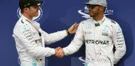 Rosberg y Hamilton durante el GP de Alemania 2016 - SoyMotor