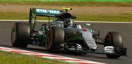 Rosberg durante el GP de Japón - SoyMotor